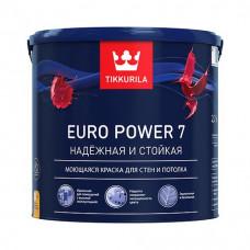 Краска для стен и потолков Tikkurila Euro Power 7 (2.7 л)