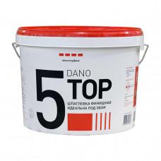 Шпатлевка финишная Dano Top 5 10 л