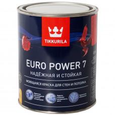 Краска для стен и потолков Tikkurila Euro Power 7 (0.9 л)
