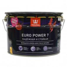 Краска для стен и потолков Tikkurila Euro Power 7 (9 л)