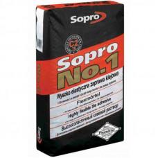 Клей плиточный Sopro №1/400, 25 кг