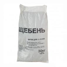 Гравийный щебень в мешках фр-5-20мм (30кг)