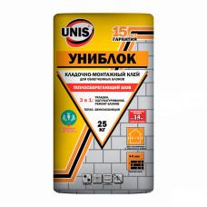 Юнис Униблок монтажно-кладочный смесь 25кг