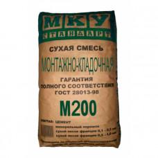 МКУ М-200 Кладочная смесь 40кг
