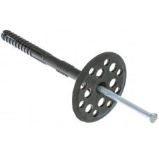 Дюбель Гриб 10х120мм с металлическим гвоздем