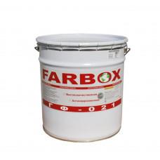 Грунтовка по металлу Фарбокс «ГФ-021 Farbox» красно-коричневая 20кг