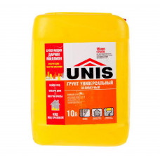 Грунтовка UNIS для Внутренних работ акрил 10л
